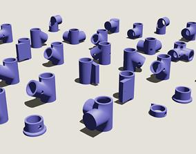 3D printable model DIY multipurpose shelves cases