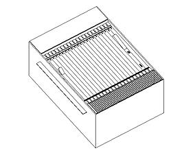DSLAM ALCATEL 3D model