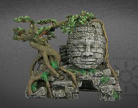 game-ready Aquarium Head Sculpture 3D Scan