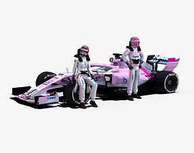 Force India VJM11 3D asset
