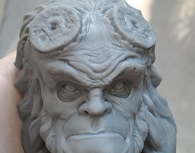 Hellboy Character Head 3D printable model