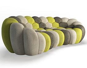 Bubble Sofa 3 Seats Roche Bobois 3D