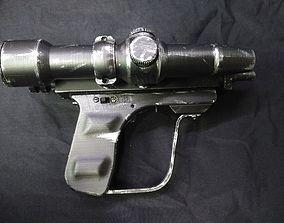 EC-17 Scout Blaster Electronics ready 3D printable model