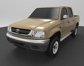3D model Toyota Hilux 2004