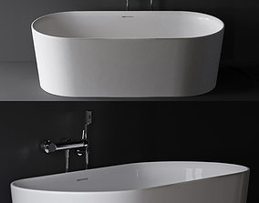 3D model laufen val bath