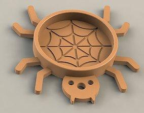 3D print model Spider Coaster