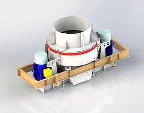 3D model BARMAC Vertical shaft impact VSI crushers