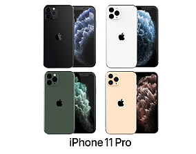 3D model Apple iPhone 11 Pro Collection