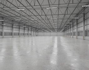 Warehouse Interior 9 3D asset