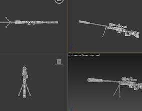 Accuracy International L96A1 3D asset