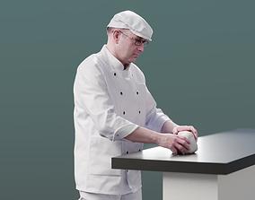3D asset Clemens 10140 - Standing Baker