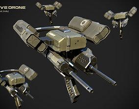 Defensive Drone 3D model