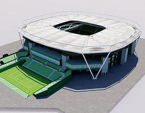 3D model Gerry Weber Stadion