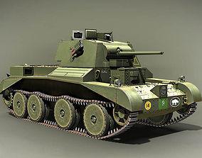 Cruiser tank Mk III A13 United Kingdom 1937 3D