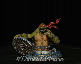 cartoon Ninja Turtles 3D printable model