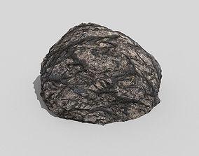 3D asset Detailed Rock