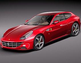 3D 2015 Ferrari FF 2012