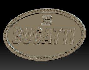 3D print model Bugatti logo car logotype