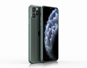Apple iPhone 11 Pro Max 3D model realtime