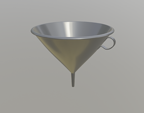 Funnel 3D model game-ready