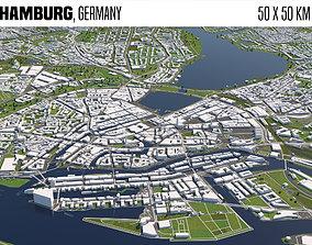 Hamburg Germany 3D model