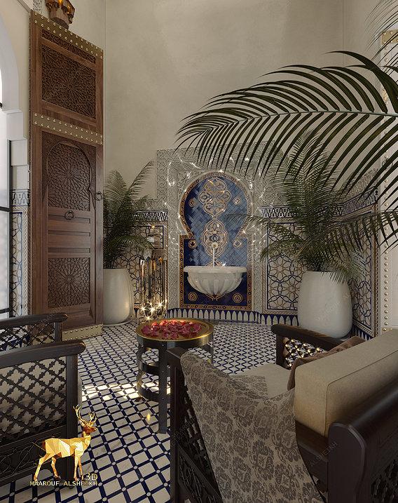 Royal Style Morocean decor  detailes