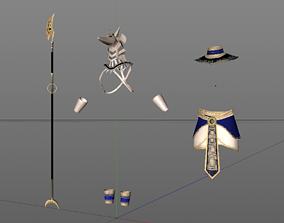 Anubis Outfit 3D