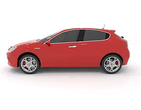 Alfa Romeo Giulietta 3D model giulietta