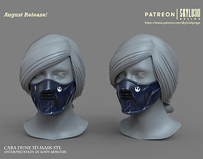Cara Dune Face Mask - Design 3D printable model 3