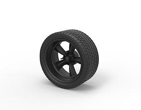 Diecast Sport wheel 3 3D printable model