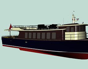 3D Passenger trip ship