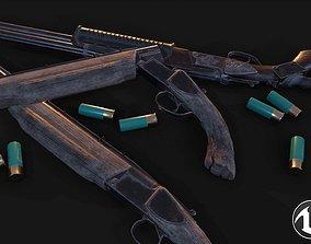 3D asset Vertical Shotgun