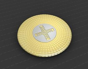 cross 3D printable model Cross Medallion