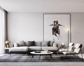 Modern style Apartment 5 3D model