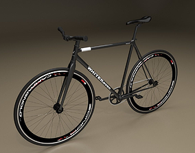 Fixed Gear Bicycle vehicle 3D