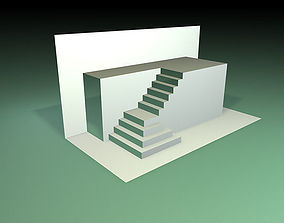 3D model Popup stairs