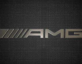 3D amg logo transport
