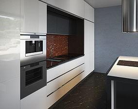 Kitchen Furniture IX shelf 3D model