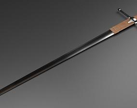 3D asset William Wallace Sword