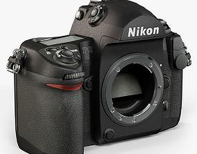 3D asset Nikon F6 Body