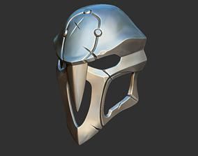 Reaper mask Overwatch 3D model