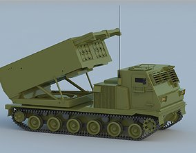 3D M270 Multiple Launch Rocket System