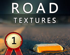 3D model ROAD Textures Pack HD