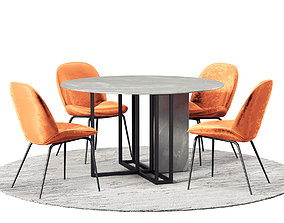 3D Dining Room Set 274