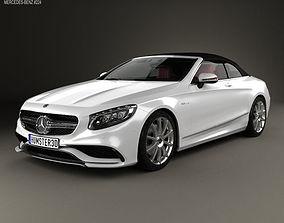 3D Mercedes-Benz S-class AMG cabriolet 2014