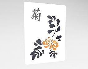 3D asset Mahjong v1 036
