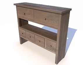 3D asset Brown cabinet PBR