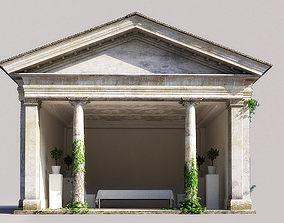 3D model garden building 09 AM148