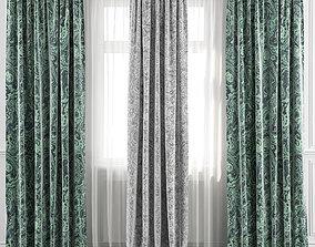 Curtain Set 41 3D model