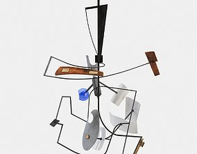 3D model Abstract Suspension